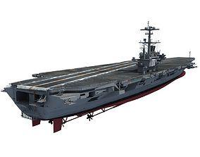 USS George H W Bush Aircraftcarrier CVN-77 3D