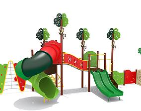 3D asset Jungle Playground