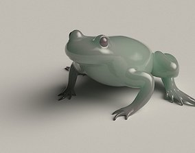 Frog basemesh version B - 5 k tris 3D model