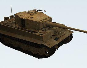3D Panzerkampfwagen VI Sd kfz 181 Tiger I ausf E Late