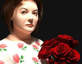 Russian Teacher 3D woman