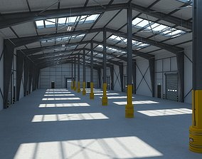 3D model Warehouse 8 interior and exterior