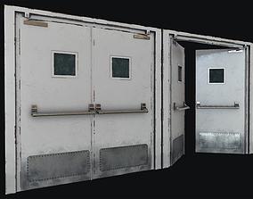 3D asset Hospital Doors Collection
