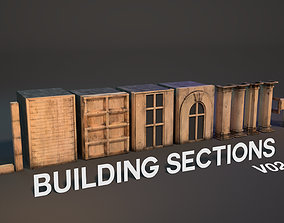 Build it your way with Building Sections V02 3D model