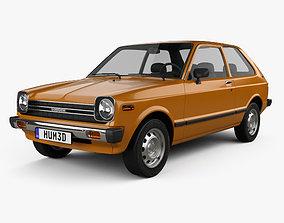 3D model Toyota Starlet 1978