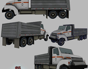 Truck Game Ready 3D asset