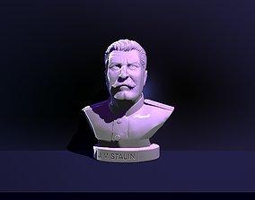 3D print model Bust of Joseph Stalin