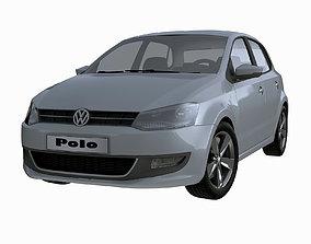 3D Volkswagen Polo 5doors 2010