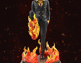 Sanji - One Piece for 3d print model