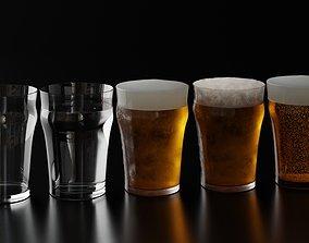 3D model Beer Glass 6