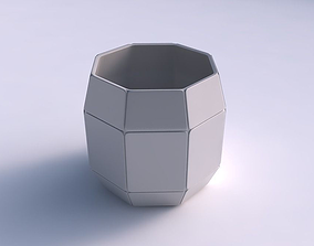 3D printable model Bowl cylindrical with huge plates