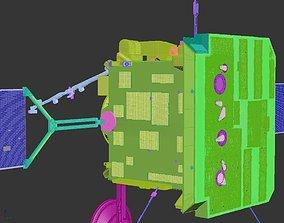 3D Solar Orbiter spaceship satellite