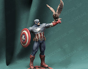 3D print model Captain America classic