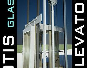 Elevator Lift 3D Model produced by OTIS lobby