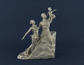 African Renaissance 3D Printable Model