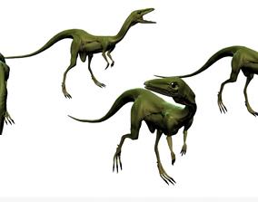 3D asset Compsognathus