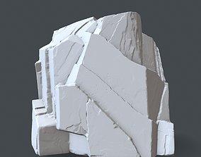 rock 7 3D printable model