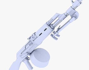 RPK Light Machine Gun 3D asset