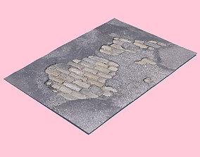 cobblestones Brick Patch-3D Scan