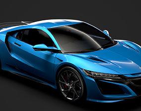 Honda NSX 2020 3D model