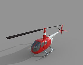 Helicopter Tourism 3D asset