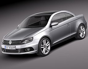 Volkswagen EOS 2011 3D model