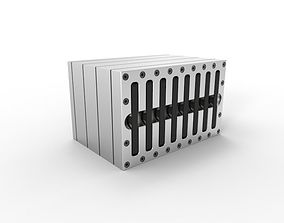 3D Hot Swap SSD Waterblock Concept