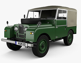 Land Rover Series I 80 Soft Top 1953 3D