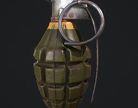 MK2 Grenade 3D asset