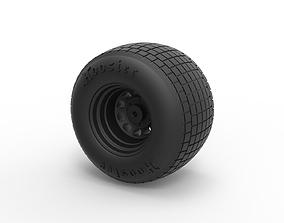 3D printable model Diecast Wheel from Batpod