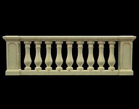 3D Classic Balustrade