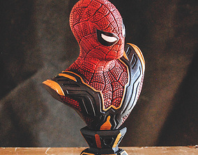 3D print model SPIDER-MAN FAR FROM HOME BUST - IRON SPIDER
