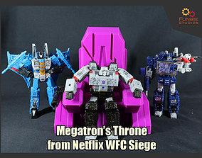 Megatron Throne from Netflix Transformers 3D print model 1