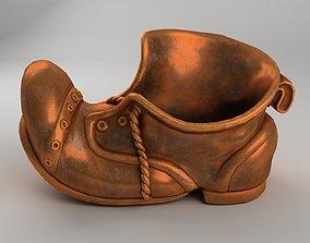Ashtray - shoe model realtime
