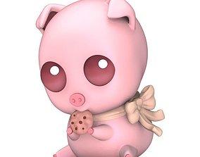 3D print model Cute Piggy Bank
