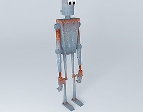 Rusted Robot 3D model