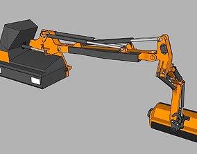 Epareuse Ferri TKD 560 - Ferri TKD 560 mower 3D