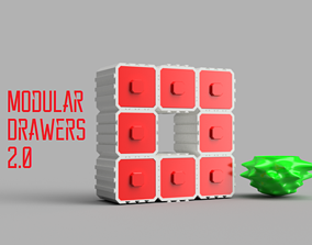 Modular Drawers 2 3D printable model