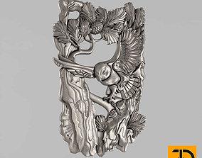 Carved panels 3D printable model