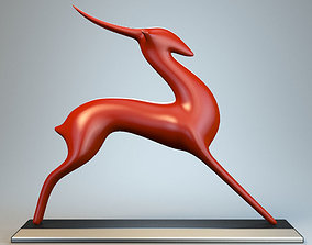 Antelope Sculpture P 3D print model