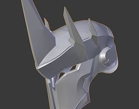 3D print model Overwatch Reinhardt Helmet