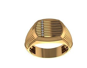 Men ring 3D scanned