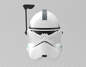 Star Wars Clone Commander Wolffe Helmet 3D print model