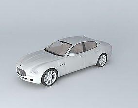 Maserati Quattroporte V 2005 3D model