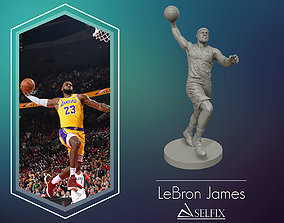 statue LeBron James 3D Dunk Model for 3D printing
