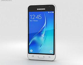 Samsung Galaxy J1 2016 White j 3D model