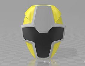 3D printable model Power Rangers Yellow Ninja KiNinger 1