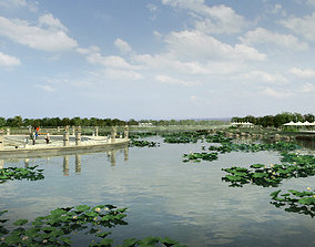 Chinese classical garden 015 3D