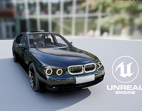 3D model rigged Car1UE4or5Ready