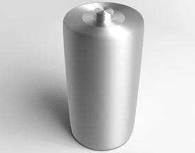 Battery D Cell 3D model